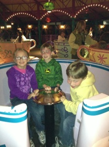 Teacups with Mommy!